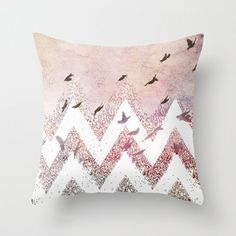 Throw Pillow Cover Dreaming by BunnyNoir on Etsy