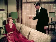 An Affair to Remember...When Cary Grant walks into her room and sees the painting..AH! What a wonderfully subtle moment!