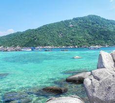 A ilha de Koh Nang Yuan vista por outro ângulo. by cidadaodumonde_