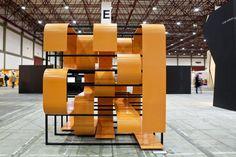 A2OFFICE   5-oc.stripes – experimental exhibition module
