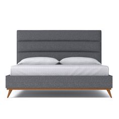 Cooper Upholstered Bed From Kyle Schuneman CHOICE OF FABRICS – Apt2B