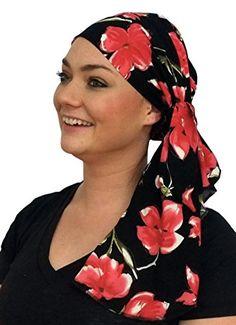ddb872420ca Jessica Pre-Tied Head Scarf - Women s Cancer Headwear