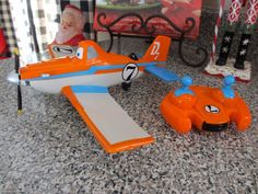 Disney Planes Dusty with Infrared Remote Control R/C Car Plane Vehicle Works! #Disney