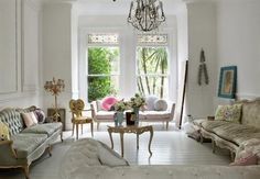 GILT AND POPS OF COLOR