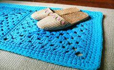 5 modelos de alfombras de trapillo