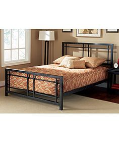 Bryant Queen-size Bed - $310, adjusts to fit either mattress alone or + box springs, good reviews <3