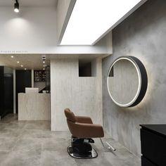 Salon Lighting, Hair Shop, Beauty Shop, Interior Design, Table, Furniture, Salon Ideas, Home Decor, Design Ideas