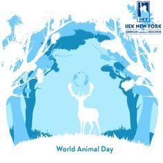 Σήμερα που γιορτάζουμε την Παγκόσμια ημέρα των Ζώων, αναλαμβάνουμε όλοι μας την ευθύνη για τα δικαιώματα τους! Φροντίζουμε, σεβόμαστε και υιοθετούμε!