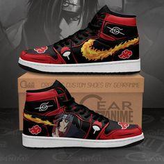 Casual Sneakers, Jordans Sneakers, Sneakers Fashion, High Top Sneakers, Naruto Shoes, Sneaker Stores, Hype Shoes, Air Jordan Shoes, Custom Shoes
