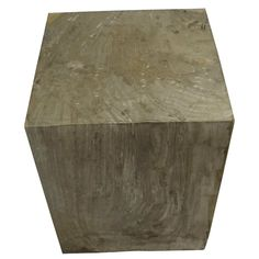 """POLISHED SQUARE PETRIFIED WOOD STOOL Dimensions 14"""" (W) x 14"""" (D) x 19"""" (H) Polished Square Petrified Wood Stool Matching set available, Item #070 Petrified Wood Side Table offered by Organic Findings. Our Petrified Wood Tables are part of a large collection of unique objects. We combine contemporary design ideas with global product sourcing. Organic Findings sources the highest quality petrified wood, please visit our online store."""