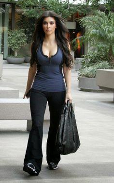 Fashion World: kim Kardashian Tells Plump Girls How to Dress Up