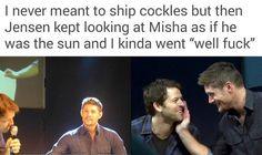 I don't even WATCH Supernatural and I ship them & Destiel. -_-