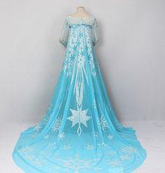 J710 Movies Frozen Snow Queen Elsa Cosplay Costume by angelssecret & 25 best Frozen images on Pinterest | Anna costume Frozen and ...