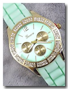 p.s. I Love You More Boutique   Mint Watch