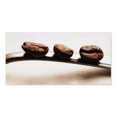 Küchenbild - Die Drei Kaffeebohnen von Poster_News