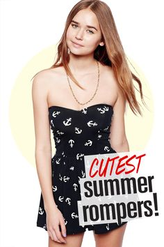 15 Cutest Summer Rompers!