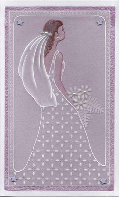 Bride Wedding Card