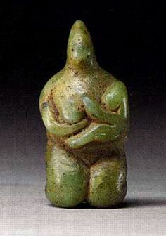 mini-girlz: Figure of a Mother and Child Syria 5000 BC to 4000 BC