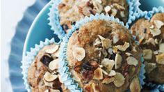 Grove morgen-muffins