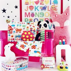 Colorful, fun children's room accessories at bygraziela.com