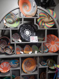 Telephone wire finds new life as vibrant decor at @salifestylehub. #HATtag #atlmkt