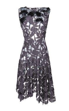 Embroidered Macrame Dress by Nina Ricci - Moda Operandi