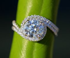 Wedding Set 14k White gold Diamond Engagement by BeautifulPetra, $7500.00 MostUniqueWeddingRings