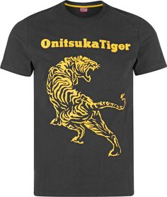 Asics Tiger Tiger 2 T-shirt black yellow