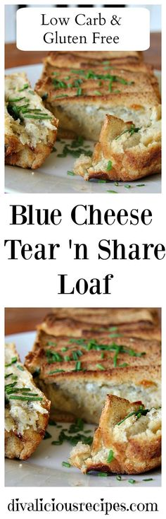A blue cheese tear a
