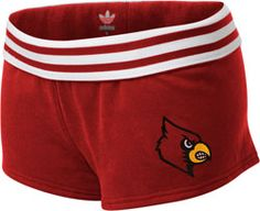 Louisville Cardinals Women's Red adidas Originals Bigger Better Logo Rollover Shorts $24.99     http://shop.uoflsports.com/Louisville-Cardinals-Womens-Red-adidas-Bigger-Better-Logo-Rollover-Shorts-_1748839870_PD.html?social=pinterest_pfid52-69618