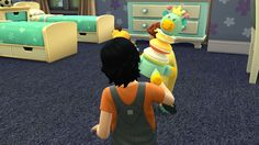 Sims 4 Functional Kids Toys