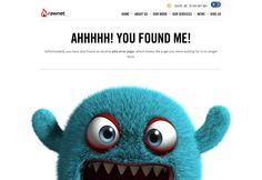 20+ Smart 404 Error Page Designs