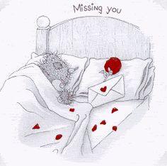 Tatty Teddy - missing you