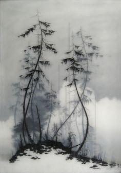 Brooks Salzwedel es un artista norteamericano autor de estas originales obras…