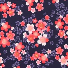 http://www.kawaiifabric.com/en/p11753-navy-blue-cute-pink-coral-Asia-flower-fabric-from-Japan.html
