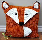 Ravelry: Felix the Fox Pillow Cover/Sleepover Bag pattern by Sincerely Pam
