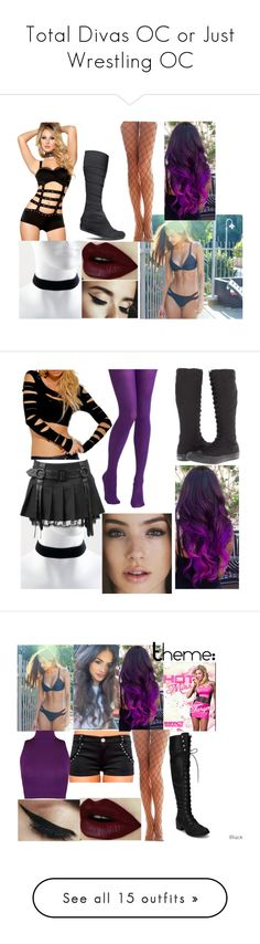 """""""Total Divas OC or Just Wrestling OC"""" by glimmergirlgamer ❤ liked on Polyvore featuring TOMS, Converse, WearAll, Asics, Roxy, Falke, WWE, Victoria's Secret, Heidi Klein and Aéropostale"""