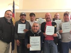 OPCMIA local 577 Denver completed OSHA 10 training for their cement masons today. #getyousomeunion