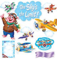 The Sky's The Limit Bulletin Board Set