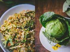 Asian Cabbage Slaw with Ginger and Basil