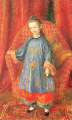 Lenna, the Artist's Daughter, in a Chinese Costume - William James Glackens, 1918