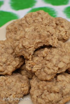 This goes to the actual recipe. Soft oatmeal cookies.