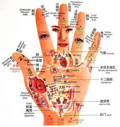 Hand-reflexology-Chart   Reflexology Map   food reflexology chart   hand pressure points