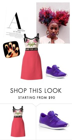 """""""Untitled #40"""" by eveline-maria ❤ liked on Polyvore featuring Gucci and New Balance"""