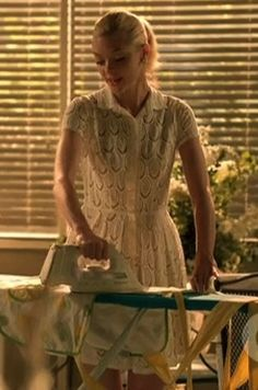 "Lemon Breeland is spotted wearing the BCBGMAX Azria White Lace Kiran Shirt Dress on Season 2, Episode 2 ""Always on my Mind"" on ""Hart of Dixie"""