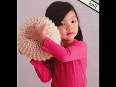 HOW TO KNIT A POUF - YouTube