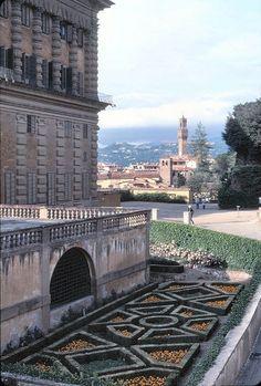 Giardini di Boboli. Firenze. Toscana. Giardini all'Italiana