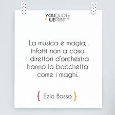 Siamo rimasti colpiti dalle parole di #EzioBosso, compositore e direttore d'orchestra che ha emozionato tutta Italia sul palco di #Sanremo2016. Il suo bellissimo intervento ci ricorda che la cura più potente contro qualsiasi male è la #musica.
