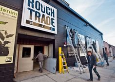 Rough Trade NYC: A new branch of a London record store is scheduled to open Monday (25.11.13), in Williamsburg, Brooklyn.