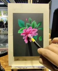 Craft Work For Kids, Acrilic Paintings, Art Painting Gallery, Art And Craft Videos, Acrylic Painting Flowers, Art Drawings Sketches Simple, Diy Canvas Art, Art Tutorials, Diy Art